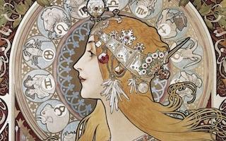 Alphonse Mucha portada Imágenes y Arte