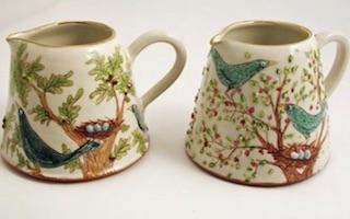 Stacey Manser Knight portada Naturaleza colorida sobre cerámica Imágenes y Arte