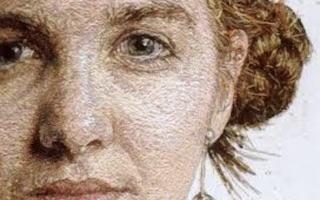 Cayce Zavaglia portada Retratos puntada a puntada Imágenes y Arte