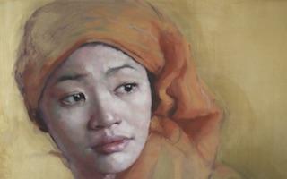 Jennifer Anderson portada Retratos en acuarela Imágenes y Arte