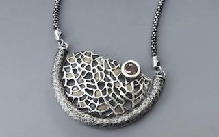 Deb Steele portada Joyas de plata y arcilla de plata Imágenes y Arte